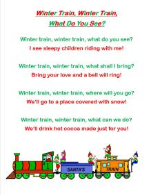 polar express songs 1
