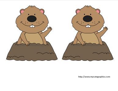 groundhog crafts 2
