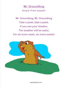 groundhog songs 1