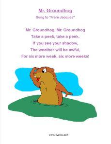 groundhog songs 1