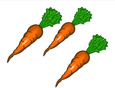 bunny carrots