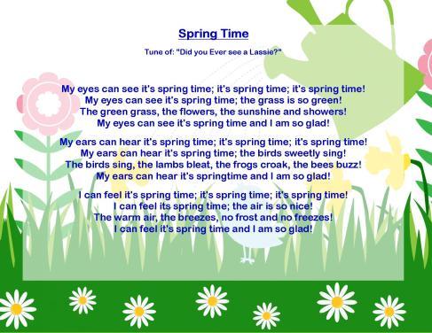 spring songs 1